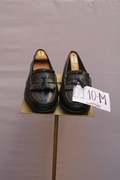 SANTONI, LEATHER SIZE 10-M
